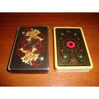 Игральные карты Юбилейные, золотая краска 1972 г.