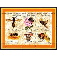 2001 Гвинея-Бисау. Осы и пчелы