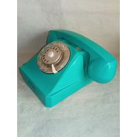 Телефон дисковый СССР 1968 г в ремонт или на запчасти
