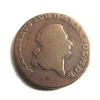3 гроша 1790 MV Станислаа Август красивая кабинетная патина.