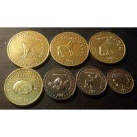 Башкирия Башкортостан НАБОР 7 монет 2013