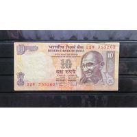 Индия, 10 рупий.