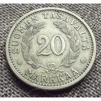 Финляндия. 20 марок 1937