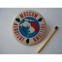 Знак-пропуск для работников Аэрофлота в период Олимпиады 1980 г. в Москве