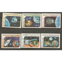 Лаос 1984 г. Космос Mi # 766-771