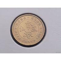 Гонконг 5 центов 1967 г. сохран