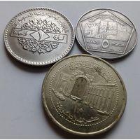 Сирия набор 1, 5, 10 фунтов