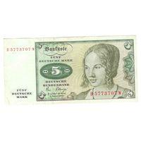 Германия 5 марок 1980 г
