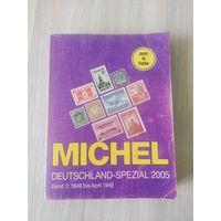 Каталог MICHEL 2005 год. Германия 1 часть 1849-1945г.