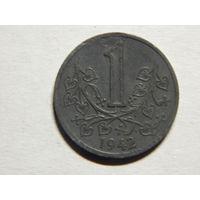Богемия и Моравия 1 крона 1942г