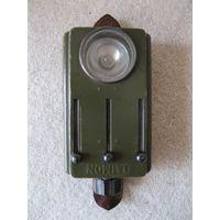 """Военный четырёхцветный сигнальный фонарь """"DAIMON"""". Германия, Вермахт, Третий рейх (Deutsches Reich, 1933-1943).."""