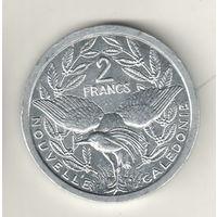 Новая Каледония 2 франк 2008