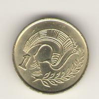 1 цент 1996 г.