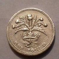 1 фунт, Великобритания 1984 г.