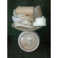 Свечи на переплавку для рукоделия около 2 кг