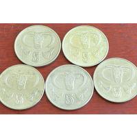 Кипр 5 центов