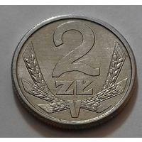 2 злотых, Польша 1989 г.