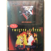 DVD TWISTED SISTER live at wacken\stay hungry