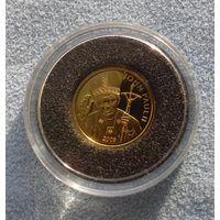 Самоа, 25 тала (1988 г.)  Иоанн Павел II. Пруф.  Золото
