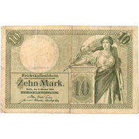 Германия, 10 марок, 1906 г. *