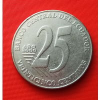 27-14  Эквадор, 25 сентаво 2000 г.