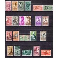 Испанские колонии 40 марок С 1 РУБ (КЦ 24 евро) 1953-1964 гг