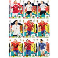 PANINI Евро 2012. Adrenalyn XL - карты подсерии Star Players - 17 карт.