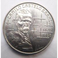 Португалия 100 эскудо 1990 г. Камилу Каштелу Бранку .
