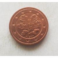 2 евроцента 2011 Германия F