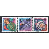 Освоение космоса Мадагаскар 1981 серия из 3-х марок