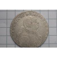 6 грошей Фридерик Пруссия 1756г.