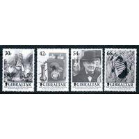 Исторические события Гибралтар 2001 год серия из 4-х марок