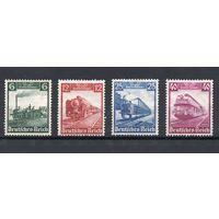 1935 Германия Рейх - 100 лет немецкой железной дороге. Полная серия*
