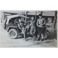 Минск Масюковщина автомобиль содаты 1950 г