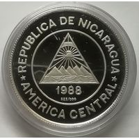 Никарагуа 50 короба 1988 г