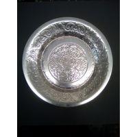 Тарелка Москва алюминий диаметр 17 см