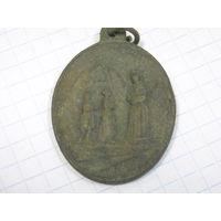 Медальон красивый редкий пр.3x4 см