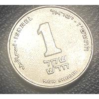 Израиль. 1 новый шекель 2006_km#160a