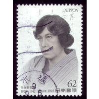 1 марка 1992 год Япония 2129