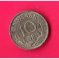 49-24 Дания, 10 эре 1961 г.