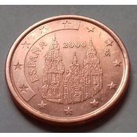 5 евроцентов, Испания 2000 г.