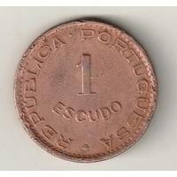 Ангола 1 эскудо 1974