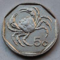 Мальта, 5 центов 1991 г