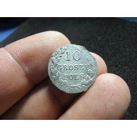 10 грошей 1831 г. польское восстание