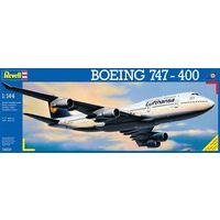 Сборная модель в маштабе 1:144 Авиалайнер Boeing 747 (Боинг-747) ,Ревел