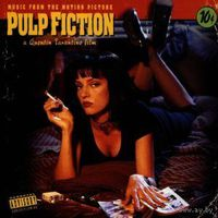 Pulp Fiction CD Music From The Motion Picture [Soundtrack, Explicit Lyrics]  1994 made in USA