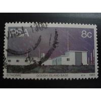 ЮАР 1983 база на острове