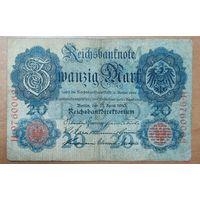 20 марок 1910 года - Германия (Ro.40b)