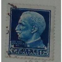 Профиль короля Виктора Эммануила слева. Италия. Дата выпуска:1929-04-21   2 шт