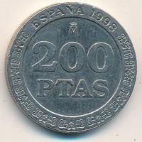 Испания 200 песет 1999, 2000 г.